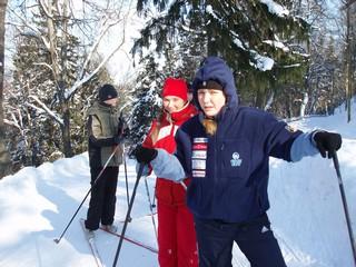 Клубная Прогулка на лыжах 4 и 11 марта в Нымме 087